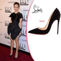 Christian Louboutin So Kate Suede High Heel Pumps & Mules