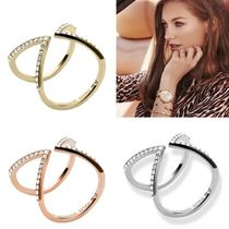 Michael Kors With Jewels Elegant Style Rings