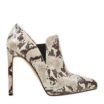 Nine West Pin Heels Python Ankle & Booties Boots
