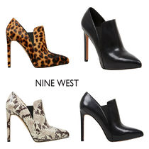 Nine West Plain Pin Heels Ankle & Booties Boots