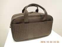 BOTTEGA VENETA Unisex A4 Plain Leather Bags