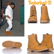 Timberland Mountain Boots Suede Street Style Plain Shoes
