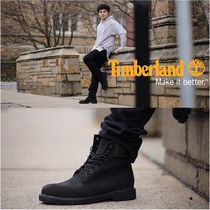 Timberland Mountain Boots Suede Plain Shoes