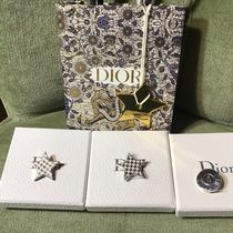 Christian Dior LADY DIOR Plain Elegant Style Accessories