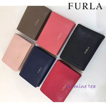 FURLA Leather Folding Wallets