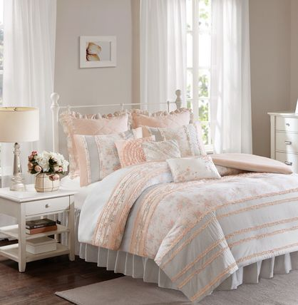 Floral Shabby Chic quilt cover 7-9 single set-King