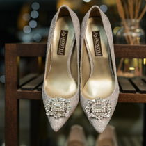 Handmade Party Style Pointed Toe Pumps & Mules