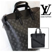 Louis Vuitton MONOGRAM Monogram Canvas A4 2WAY Totes