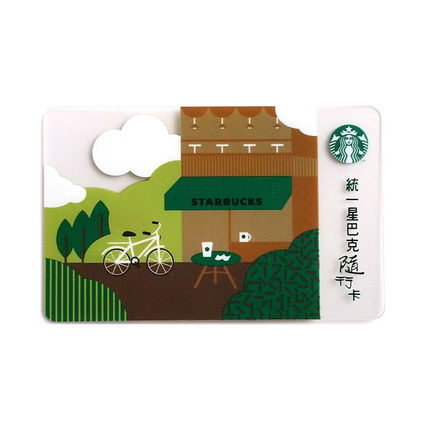 Starbucks Taiwan limited card coffee life