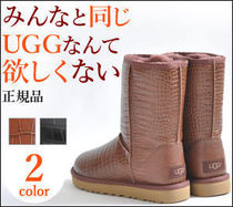 UGG Australia CLASSIC SHORT Fur Other Animal Patterns Boots Boots
