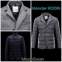 MONCLER RODIN Short Fur Plain Chester Coats