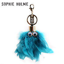 SOPHIE HULME Leather Keychains & Bag Charms