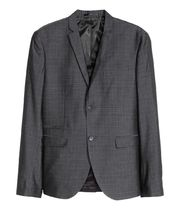 H&M Other Check Patterns Blazers Jackets