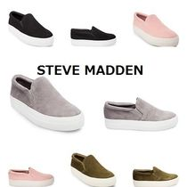 Steve Madden Casual Style Suede Plain Slip-On Shoes
