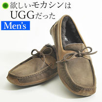 UGG Australia Moccasin Suede Loafers & Slip-ons