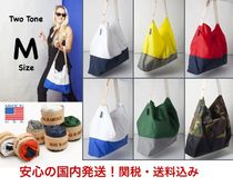Ron Herman Nylon Bi-color Totes