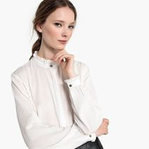Mademoiselle R Cotton Office Style Shirts & Blouses