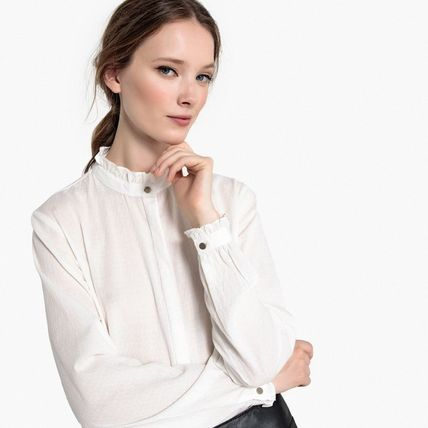 Cotton Office Style Shirts & Blouses