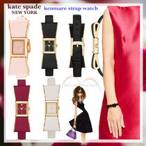 kate spade new york Leather Square Quartz Watches Analog Watches