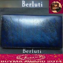 Berluti Leather Handmade Long Wallets