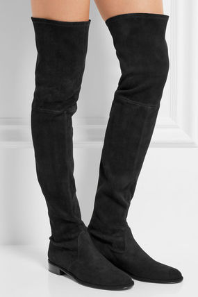 Thighscraper Suede Sajai Boots