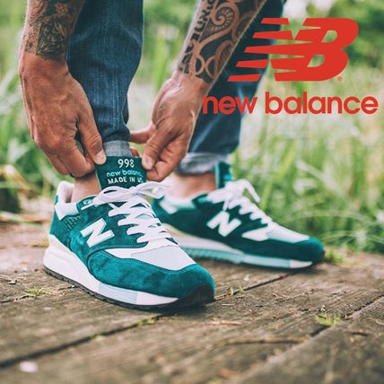 New Balance 998 Suede Plain Sneakers