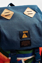 POLER Canvas Street Style Collaboration A4 Backpacks