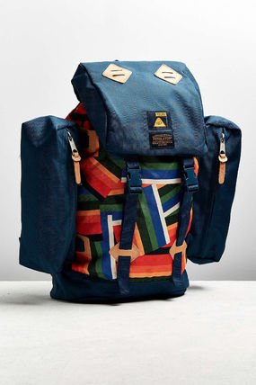 Canvas Street Style Collaboration A4 Backpacks