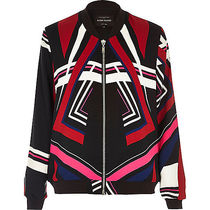 River Island Stripes Casual Style Medium Bold Varsity Jackets