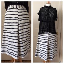 Primark Stripes Medium Elegant Style Culottes & Gaucho Pants