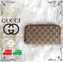GUCCI Unisex Cambus Long Wallets