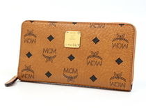 MCM Leather Long Wallets