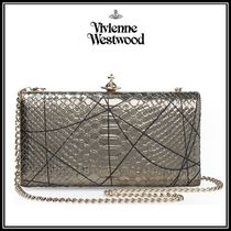 Vivienne Westwood 2WAY Leather Clutches