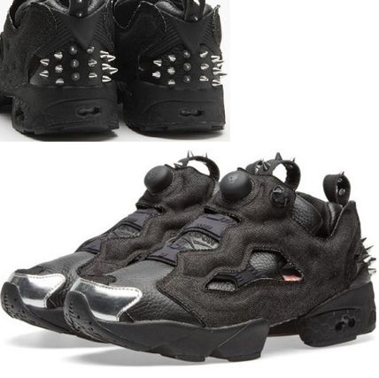 Reebok PUMP FURY Studded Low-Top Sneakers