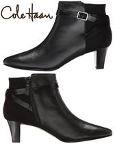 Cole Haan Plain Leather Elegant Style Ankle & Booties Boots