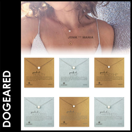 Dogeared Casual Style Chain Silver Necklaces & Pendants