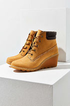 Timberland Plain Toe Casual Style Street Style Plain Leather
