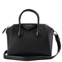 GIVENCHY ANTIGONA Plain Leather Handbags