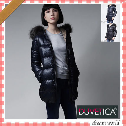 16 Fall-down coat with autumn and winter fur