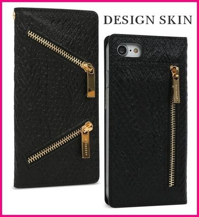 Plain Leather Handmade Smart Phone Cases