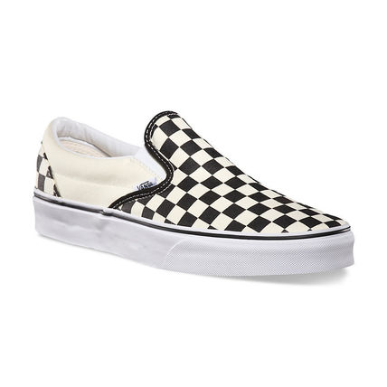 c8a7538e9a ... VANS Loafers   Slip-ons Gingham Street Style Bi-color Loafers   Slip-  ...