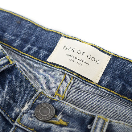 FEAR OF GOD More Jeans Street Style Cotton Jeans 3