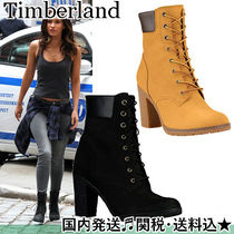 Timberland Platform Round Toe Casual Style Street Style Plain