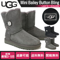 UGG Australia BAILEY BUTTON Leather Boots Boots