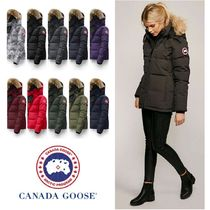 CANADA GOOSE CHELSEA PARKA Short Fur Plain Down Jackets