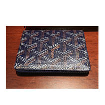 GOYARD Unisex Leather Card Holders