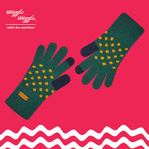 wiggle wiggle Dots Wool Smartphone Use Gloves