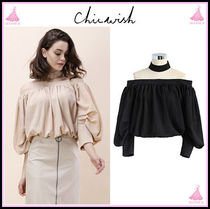 Chicwish Plain Medium Office Style Bandeau & Off the Shoulder