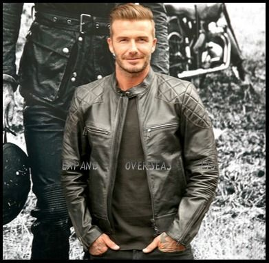 Beckham Bell Stuff Leather jacket