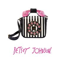 Betsey Johnson Stripes Casual Style 2WAY Shoulder Bags